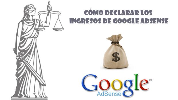 declarar los ingresos en google adsense