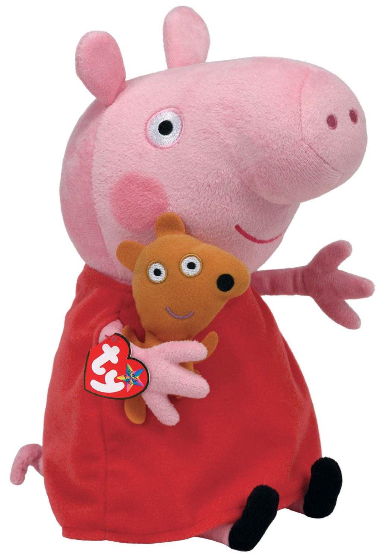 Игрушка свинка пеппа из флиса