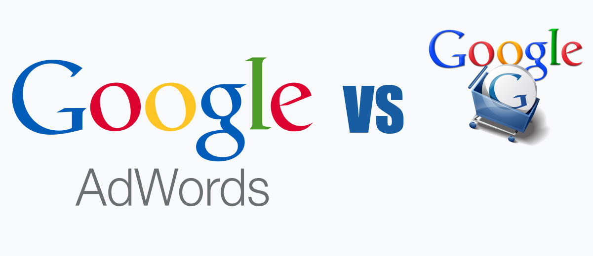 google-adwords-VS-shopping