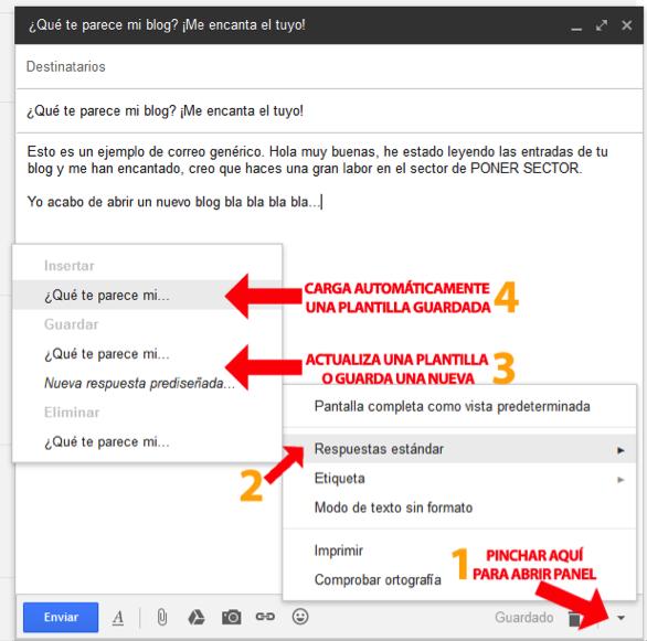 Plantillas para Gmail