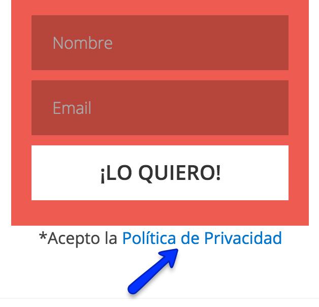politica optin