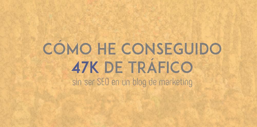 Experiencia de cómo conseguir tráfico en un blog