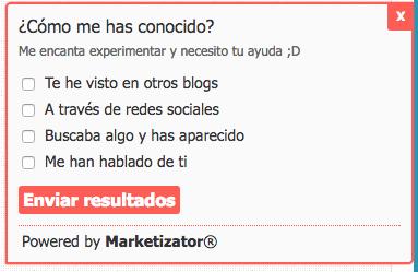 Marketizator suscripción