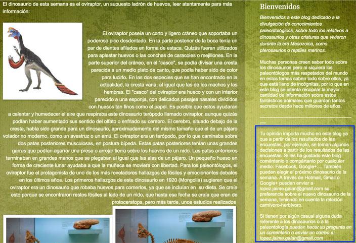 web de dinos