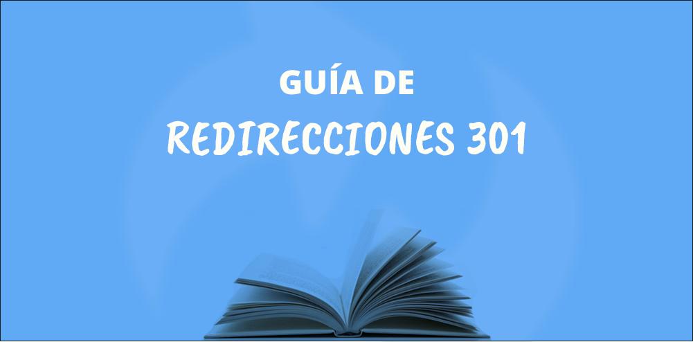 Guía de redirecciones 301