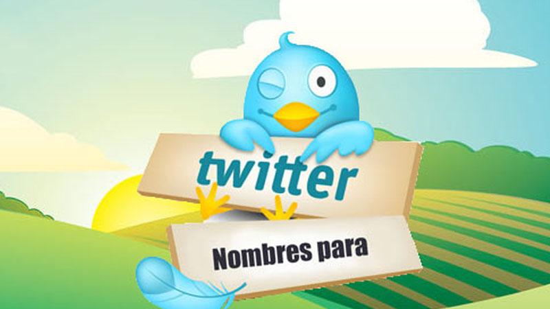 Nombres Para Twitter Súper Originales Y Divertidos B30
