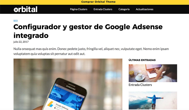 Los mejores Themes Para Google Adsense | B30